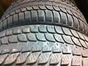 245/70R17	Bridgestone Blizzak DMV1 2 Used winter tires 80%tread left Free Installation and Balance