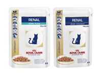 Royal Canin Renal Diet Cat food - 8 boxes