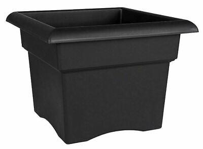 Square Outdoor Pot - Square Plastic Planter 18