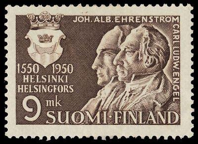 "FINLAND 298 (Mi389) - Helsinki ""J.A. Ehrenstrom and C.L. Engel"" (pf50101)"