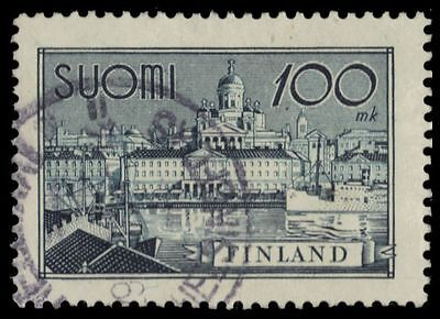 "FINLAND 240 (Mi264) - Helsinki South Harbour ""1942 Thin Paper"" (pf75496)"