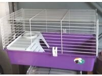 SMALL ANIMAL (GUINEA PIG / HAMSTER ETC) INDOOR CAGE - EXCELLENT CONDITION HARDLY USED