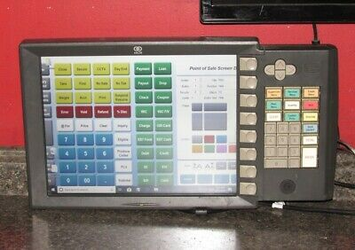 Ncr 5954-2501-9090 15 Pos Register Display 15 Led Dynakey Surface Capacitive