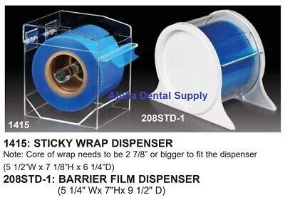 Plasdent Dental Medical Sticky Wrap Or Barrier Film Dispenser Clear White