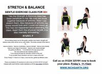 gentle chair based exercise for the over60s