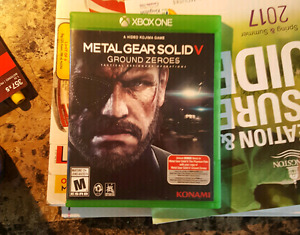 Xbox One Metal Gear Solid ground zeroes