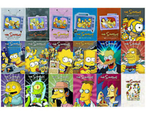 Wanted - Simpsons TV Series DVDs