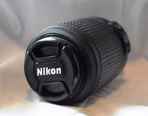 Nikkor  55mm to 200mm lens  Excellent Condition NEW PRICE