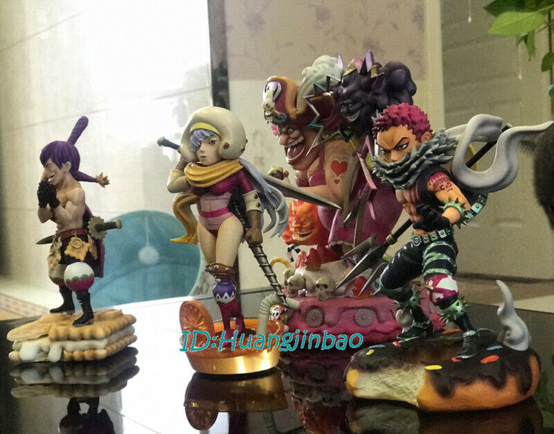 Model Stand Included GK Satue One Piece Charlotte Katakuri Figure Plating Ver