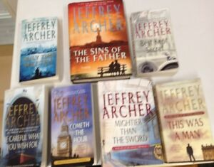 "7 new books by Jeffery Archer ""The Clifton Chronicles"""