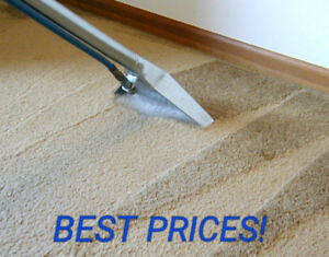 CARPET OR UPHOLSTERY CLEANING TODAY? NO PROBLEM! ☎ 289 969 2051