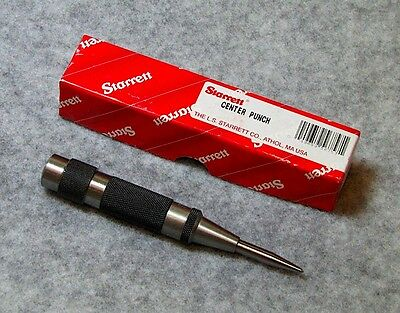 Starrett 5 Automatic Center Punch  18a - New