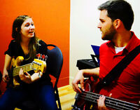 INSCRIPTION COURS DE GROUPE (10 SEM.) CHANT- GUITARE - BAND