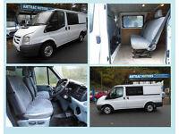 Ford Transit 2.2TDCi Duratorq 280M ( Low Roof ) 6 SEAT CREW VAN