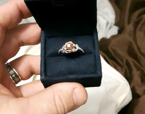 "Disney Princess ""Belle"" engagement ring"