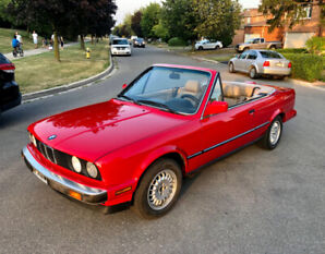***STOP HERE**88 BMW 325I Convertible All Original /Low Kms
