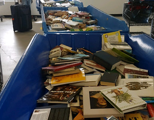 Buying BULK quantities of used books!!