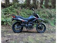 Keeway TX 125c SM Enduro Bike Scrambler Crosser Trails supermoto motorcycle