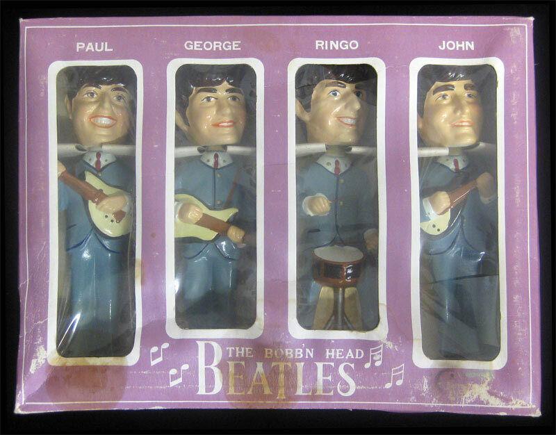 Beatles Original 1964 Car Mascots Bobb