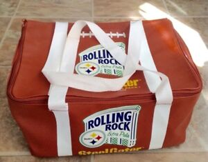 Pittsburgh Steelers Rolling Rock Extra Pale Cooler Bag