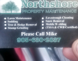 Northshore mobile welding and property maintenance