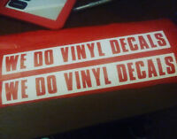 Custom T-Shirts and Vinyl Decals ~ Angus/Barrie
