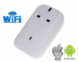 UK Standard Wifi Smart Plug Power Socket App Wireless Remote Control Wall Plug For IOS Android