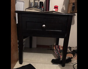Black Nightstand/Coffee Table