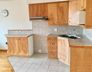 VIEUX LONGUEUIL (rue St-Charles O.) - 3 1/2 aire ouverte