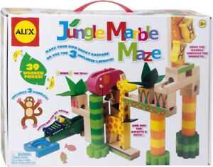 Early Learning Jungle Marble Maze