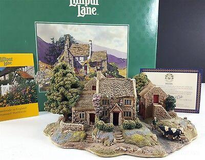 Lilliput Lane Bluebell Farm L2013 English Collection 1996 GUC
