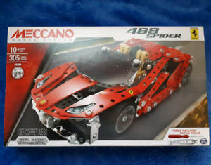 Model Car Set Meccano 488 Spider