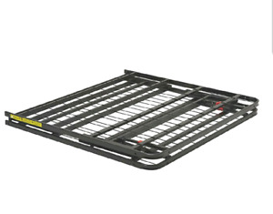 Twin Bed Frame, Sturdy Metal, Portable