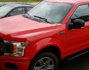 2018 ford f-150 race car red