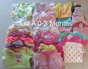 Various Baby Girl Summer Clothes Lots