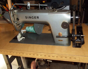 Industrial Sewing machines and thread