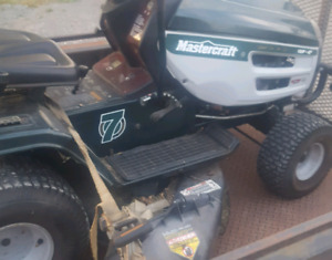 Riding lawn mower. Fully serviced