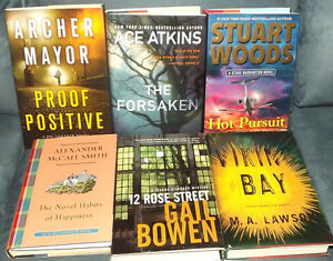 HORROR, FANTASY, AND SCIENCE FICTION HARD COVERS ONLY $5 EACH