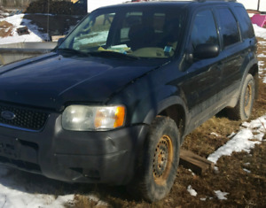 2003 Ford escape Parts only