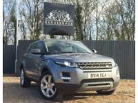 2014 14 LAND ROVER RANGE ROVER EVOQUE 2.2 SD4 PURE TECH 5DR