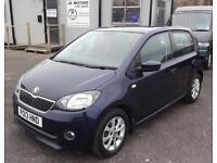 2013 (13) Skoda Citigo 1.0 MPI Elegance Green Tech Blue