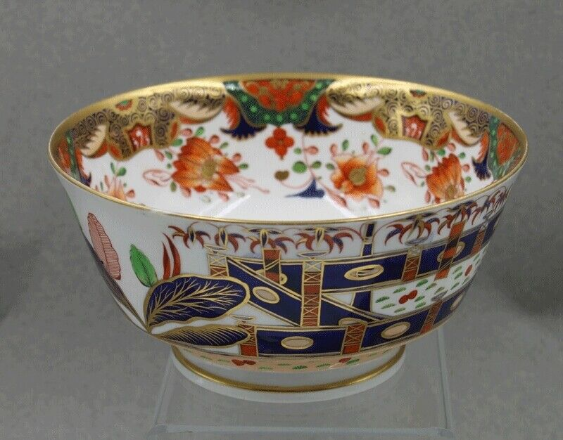 Antique Spode 967 Porcelain Imari Japan Pattern Waste Bowl
