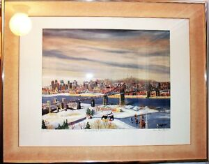 Lithograph by Jean Paul Langlois Signed by the Artist!!!!! West Island Greater Montréal image 2