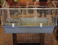 Extra large deluxe living world rabbit cage