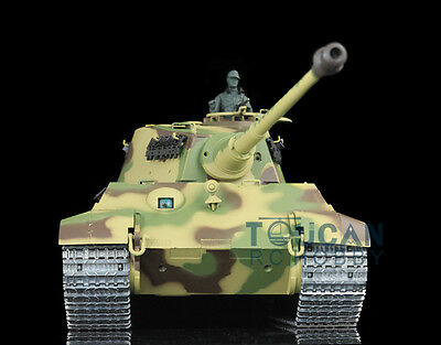 HengLong 1/16 Scale KingTiger RTR RC Tank Customized Metal Tracks Wheels 3888A