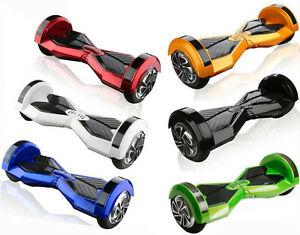SMART BALANCE E-SCOOTERS HOOVERBOARD EBOARD ELECTRIC WHEELS 8""