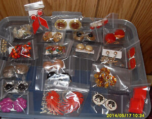 Vintage/Retro clip earrings $7.00 each pair