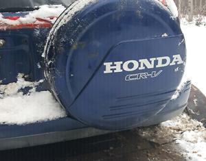 Spare tire cover off honda  crv