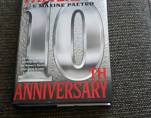 James Patterson 10 th hardcover book