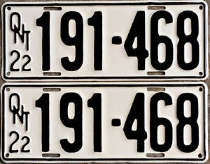 YOM Licence Plates For Your Old Auto - Ministry Guaranteed! Windsor Region Ontario image 2